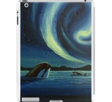 Whale Watching iPad Case/Skin