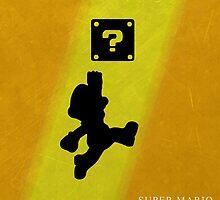 Super Mario - Metal Series  by darksilly