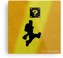 Super Mario - Metal Series  Metal Print