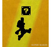 Super Mario - Metal Series  Photographic Print
