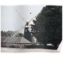 Tuxford Windmill Poster