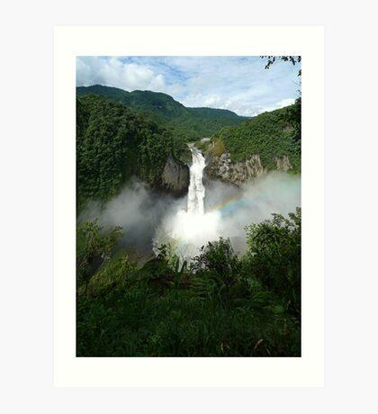 San Rafael Falls - Ecuador Art Print