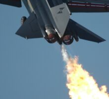 F111 - Flaming Climbout @ Amberley Airshow 2008 Sticker