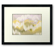 Banana Storm Framed Print