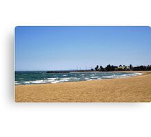 Williamstown Front Beach - Vic. Canvas Print