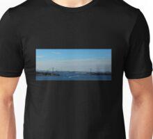 Whitestone Bridge (Panorama) Unisex T-Shirt