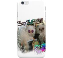 SASSY CATS! iPhone Case/Skin