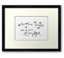 Lots of love  Framed Print