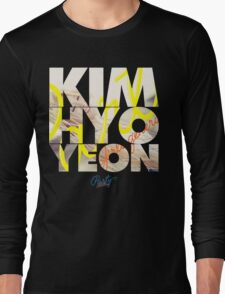 Girls' Generation (SNSD) Kim Hyoyeon 'Party' Long Sleeve T-Shirt