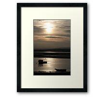 Sunset on Montrose Basin Framed Print
