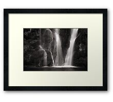Waterfall, Valley of Desolation Framed Print