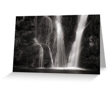 Waterfall, Valley of Desolation Greeting Card