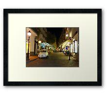 Giro e Gelato! Framed Print