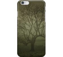 Early morning tree art iPhone Case/Skin