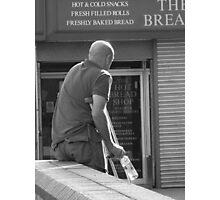 Random Bread Man Photographic Print