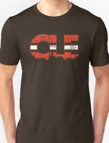 "Cleveland, Ohio ""CLE"" Browns Shirts, Stickers, Mugs, More Unisex T-Shirt"