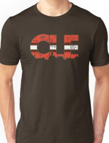 """Cleveland, Ohio """"CLE"""" Browns Shirts, Stickers, Mugs, More Unisex T-Shirt"""