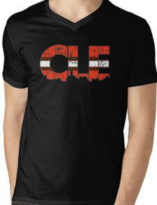 "Cleveland, Ohio ""CLE"" Browns Shirts, Stickers, Mugs, More Mens V-Neck T-Shirt"