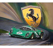 Ferrari P4 Photographic Print