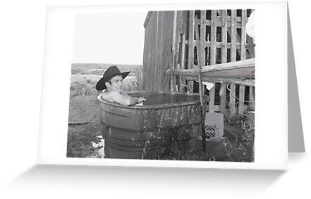 Cowboy's Bath Tub by wildfiremare
