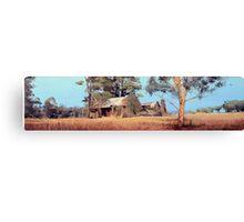 Overgrown Ruins of Tintinhull Inn, Tintinhull, NSW, Australia. Canvas Print