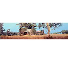 Overgrown Ruins of Tintinhull Inn, Tintinhull, NSW, Australia. Photographic Print