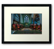 Evening Prayers Framed Print