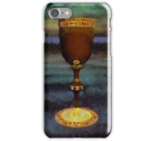 The Holy Grail by Sarah Kirk iPhone Case/Skin