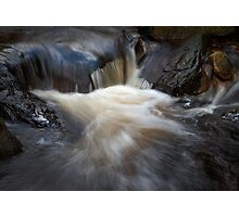 moving waters Photographic Print