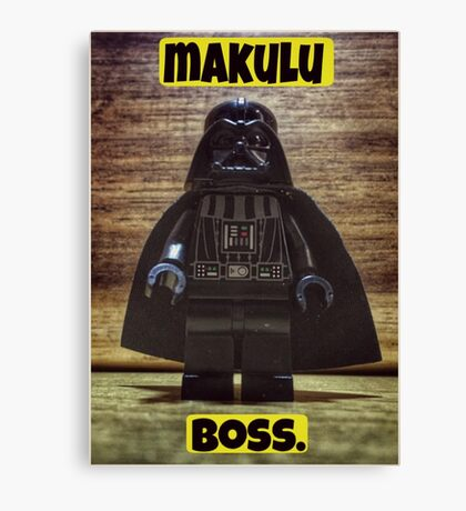 Makulu boss Canvas Print