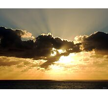Beaming Encore Photographic Print