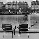 Deux Chaises by Virginia Kelser Jones