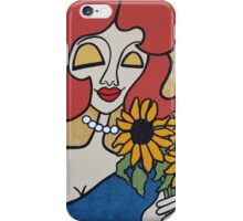 Wildago's Sunflower Pearl iPhone Case/Skin