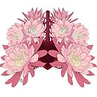 Flowers as lungs by katzegraphics