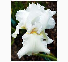 Glowing white iris. Unisex T-Shirt