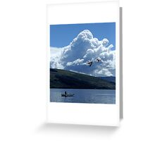Flight Over Loch Fyne Greeting Card