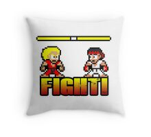 'FIGHT!' Throw Pillow