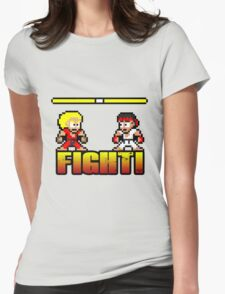 'FIGHT!' Womens Fitted T-Shirt