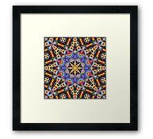 Kaleidoscope Challenge Framed Print