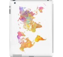 World Map Pastel iPad Case/Skin