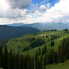Mountains in Vail by Rachel  Chaikof
