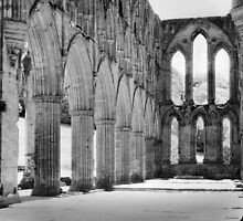 Rievaulx Abbey on SFX by Chas Bedford