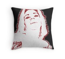 Etched in Joy Throw Pillow
