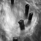 Sandsend swirl by Chas Bedford