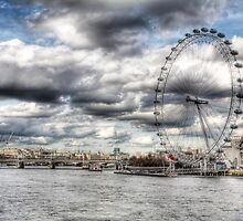 London Eye by david gilligan