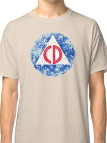 Civil Defense Emblem Classic T-Shirt