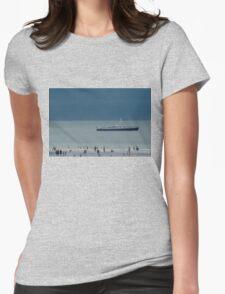 """""""Pas de Trois"""" B01 Womens Fitted T-Shirt"""
