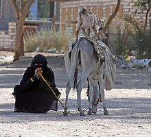 Bedhouin woman, Egypt by LisaRoberts