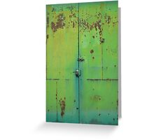 The rust moves in... Greeting Card