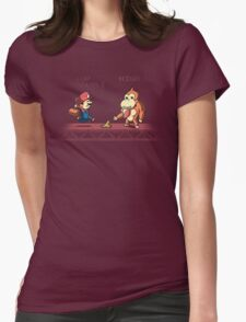 Tricky Kong Womens Fitted T-Shirt